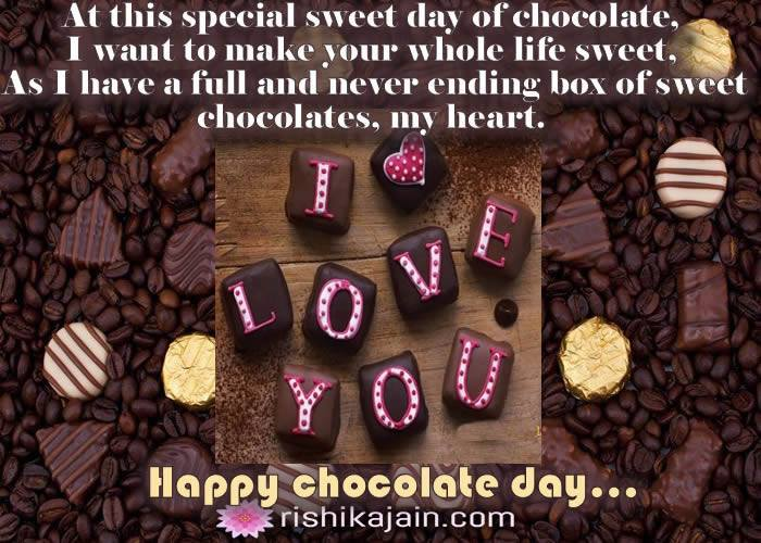 Chocolate Day Quotes For Love Twitter