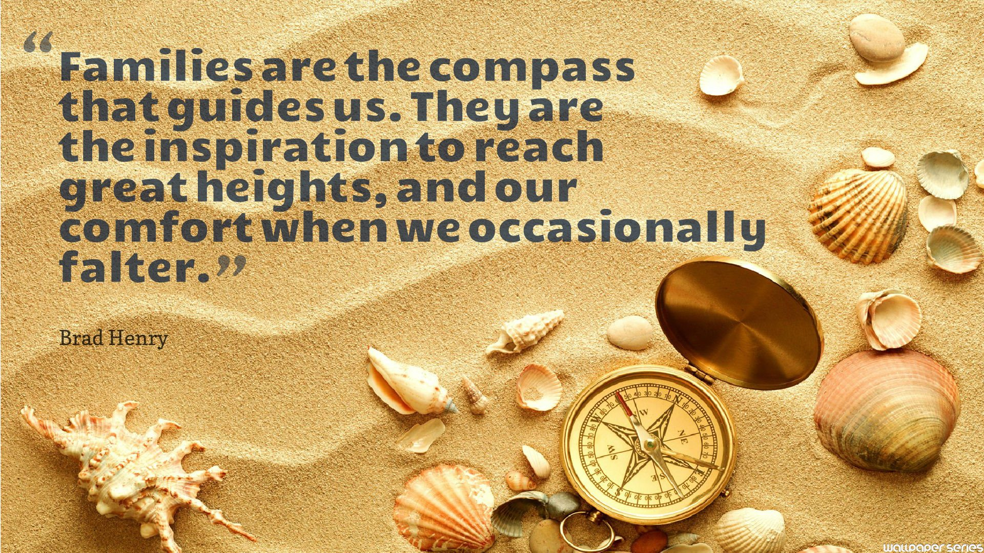 Compass Quotes About Family