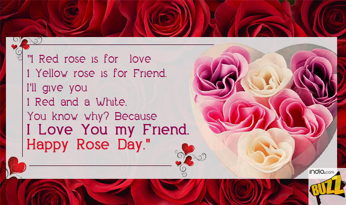 Happy Rose Day For Friends