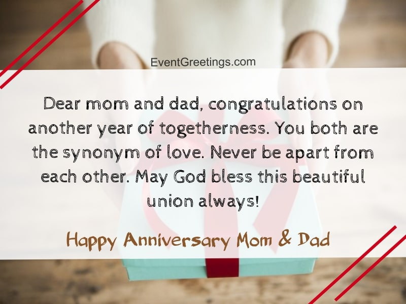 Happy Wedding Anniversary Quotes For Parents Best Of Forever Quotes