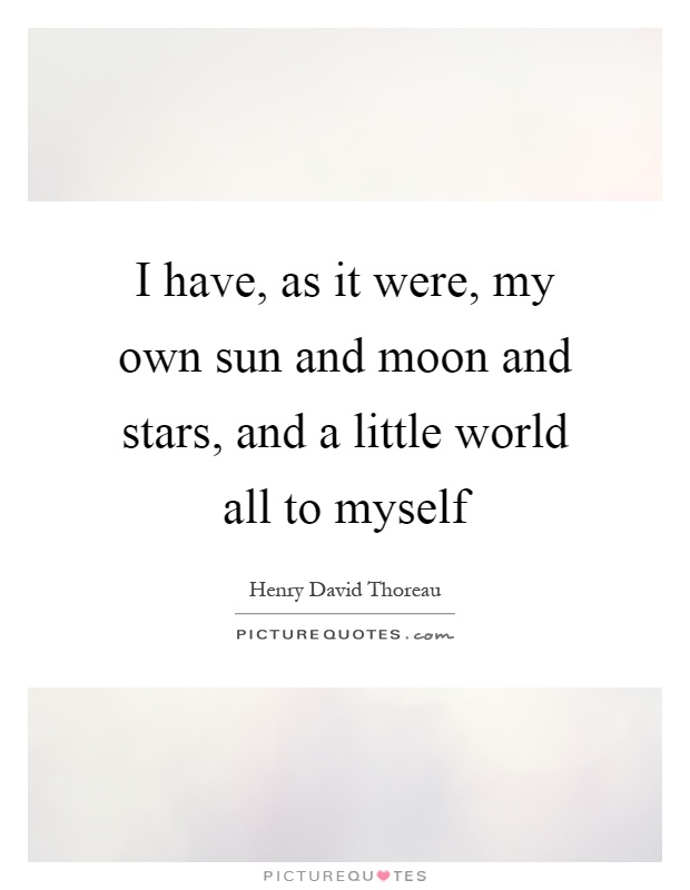 In My Own World Quotes Pinterest