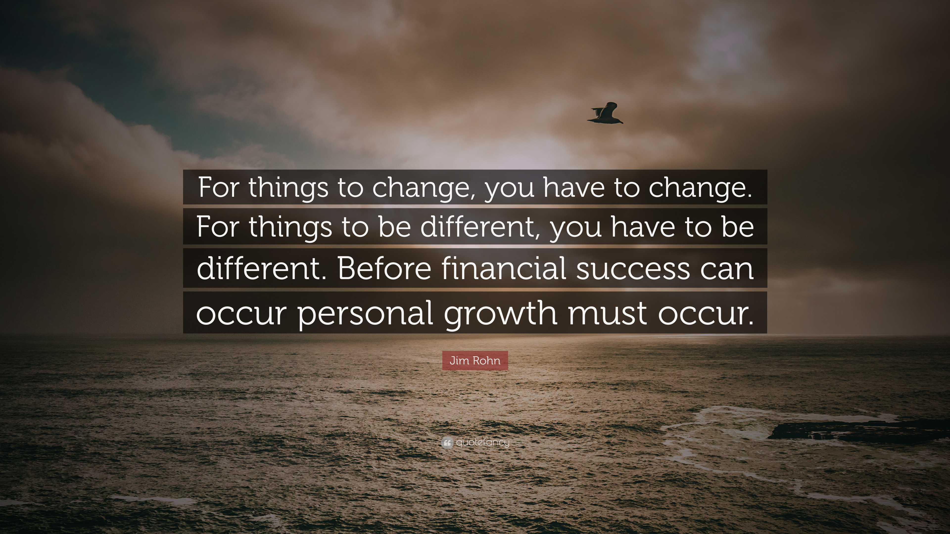 Jim Rohn Quotes For Things To Change Twitter
