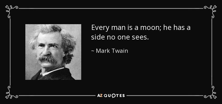 Mark Twain Moon Quote Pinterest