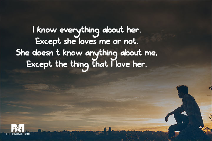 One Side Love Messages Pinterest