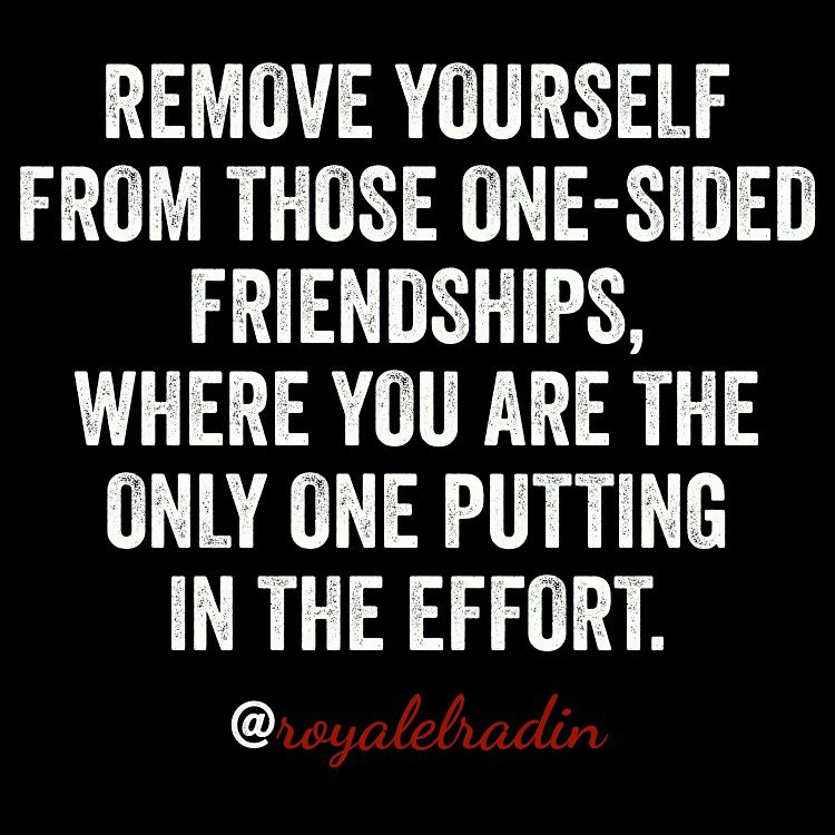 One Sided Friendship Quotes Pinterest