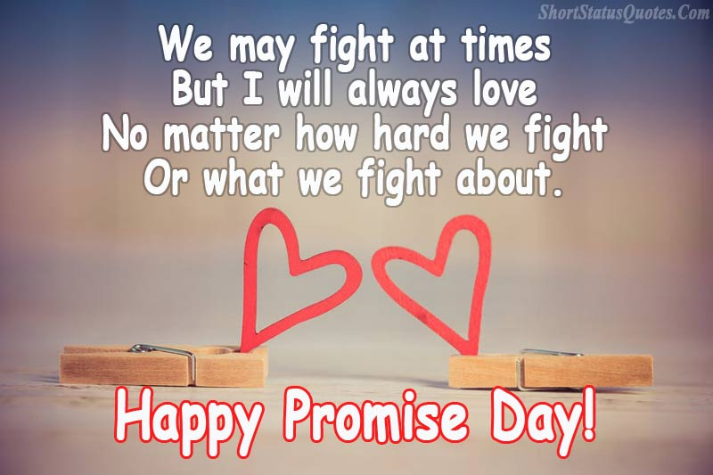 Promise Day Quotes For Crush Tumblr