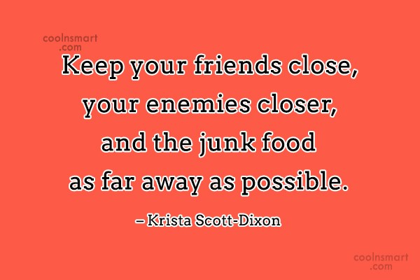 Quotation On Junk Food