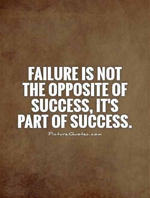 Success And Failure Quotes Pinterest
