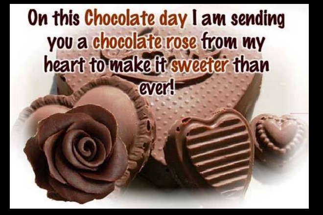 World Chocolate Day Messages Pinterest