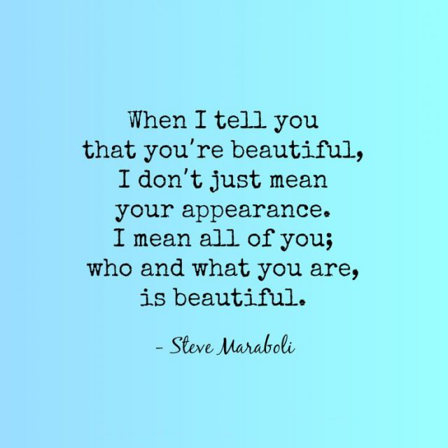 You Look Beautiful Quotes Tumblr
